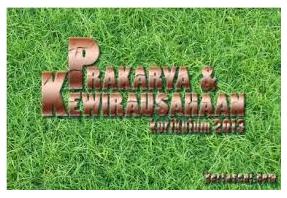 Prakarya dan Kewirausahaan XII MIPA 1